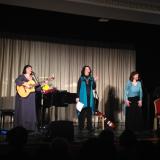 9 октября Юлия Зиганшина, Эльмира Галеева и Елена Фролова выступили в Московском Доме Журналиста.