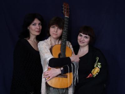 Юлия Зиганшина, Елена Фролова и Эльмира Галеева