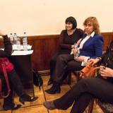 С Раисой Нур, Ларисой Брохман и Марией Булат.