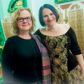 С Мариной Носовой - автором фотографий!