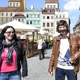 Ника Коварская и Александр Лаврентьев. Гастроли в Польше. 2012 год.