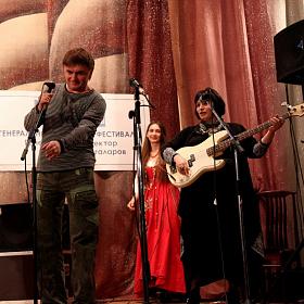 Андрей Козловский, Люба Леонтьева и Юлия Зиганшина.