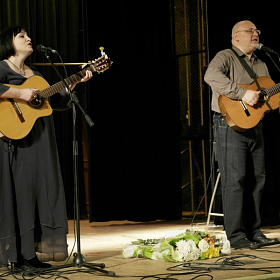 Юлия Зиганшина и Владимир Гольцман