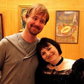 Павел Фахртдинов и я.