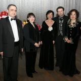 С Александром Сариевым, Нани Брегвадзе, Давидом Гвинианидзе и Галиной Преображенской.