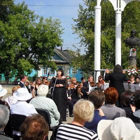 31 августа 2013 года, Елабуга. День памяти Марины Цветаевой. Юлия Зиганшина и оркестр La Primavera
