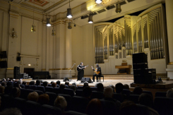 Фотография из архива певицы: концерт в Краковской филармонии в 2012 году.