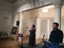 """Сегодня состоялся третий концерт цикла """"Герои моего романса"""", посвящённый Белле Ахмадулиной!"""