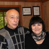 С Александром Моисеевичем Городницким. Фестиваль KSPUS, сентябрь 2012.